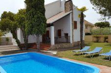 Villa en Cambrils - 7235- Ca La Nina- Piscina y Jardín...