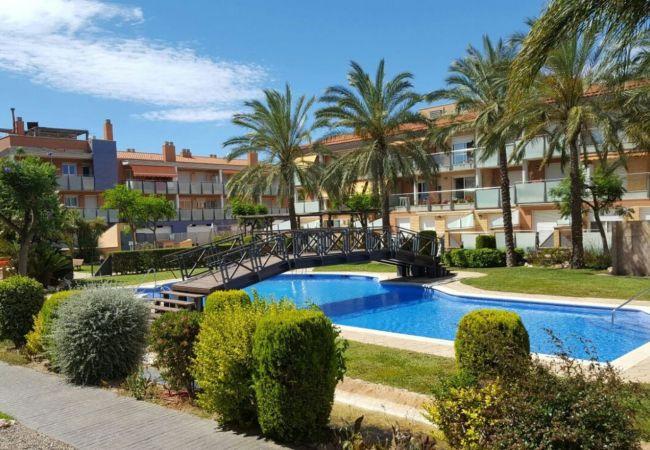 Apartamento en Cambrils - 7084 - Port Marino 3 Piscinas, Jacuzzi y Parking