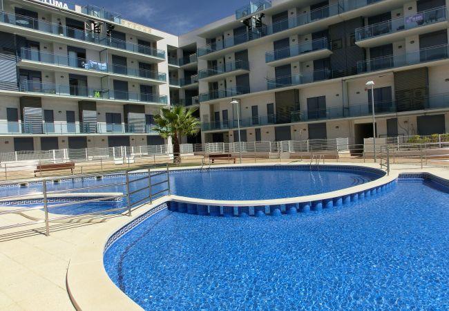 Apartamento en Cambrils - 7347 - Augusta  80m  playa, Terraza y Piscina